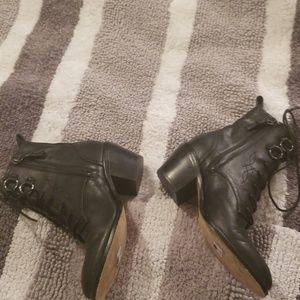 40f4b4a42d Diane Von Furstenberg Shoes | Diane Furstenberg Dakota Lace Up Boots ...